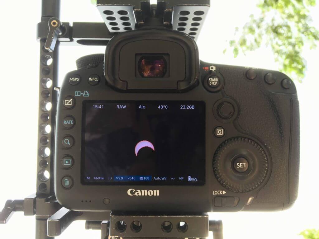 日蝕拍攝設定