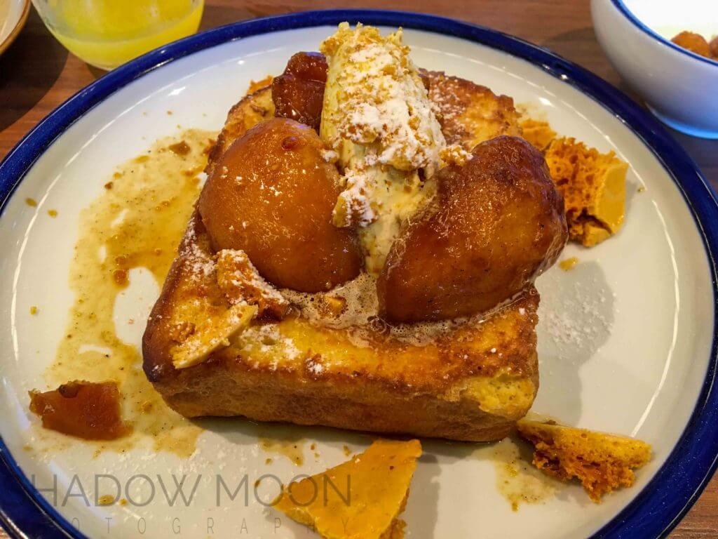 tavernist, 金普頓法式吐司、蜂蜜椪糖、香烤蘋果