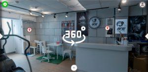 fitin 健身房 VR導覽